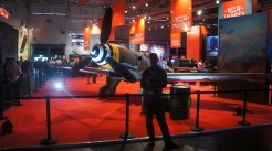 Country Manager Peter visits the War Thunder booth