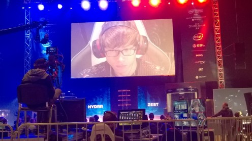 Zest on his way to the final
