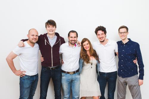 Introducing: nevaly! - l-r: Stephan Stricker, Camille Martinache, Albert Schwarzmeier, Farina Schurzfeld, John-Henry Drabeck